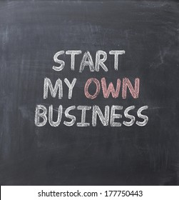 start my own business