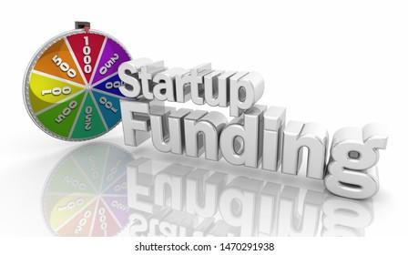 Startup Funding New Business Venture Capital 3d Illustration