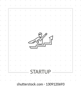 startup icon with lider