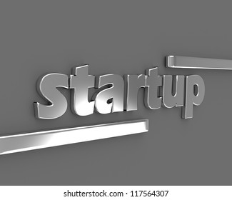 Startup sign