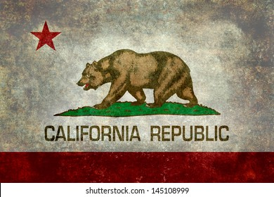 State flag of California - the Bear flag