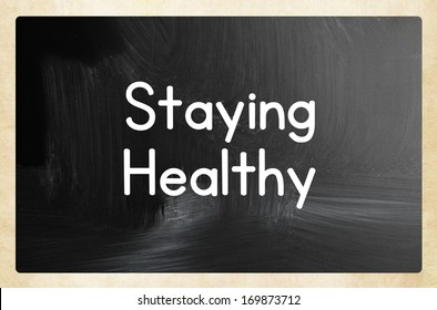 staying healthy concept