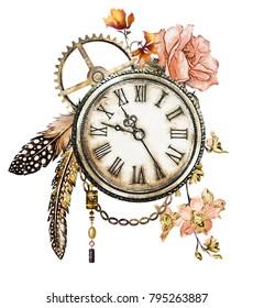 Clock Tattoo Art Images Stock Photos Vectors Shutterstock