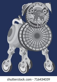 steampunk-pug
