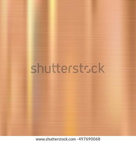 Steel cooper polished metal