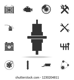 steering rod of the car icon. Detailed set of car repear icons. Premium quality graphic design icon. One of the collection icons for websites, web design, mobile app