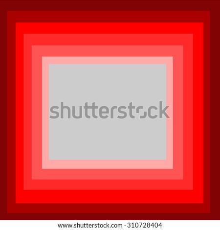 Steps Frames Red Color Stock Illustration 310728404 - Shutterstock