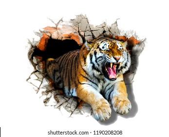 Tiger Desktop Images Stock Photos Vectors Shutterstock