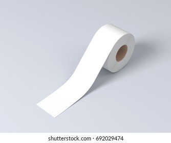 Sticky tape roll, scotch tape, adhesive tape 3d rendering