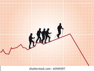 stock exchange diagram