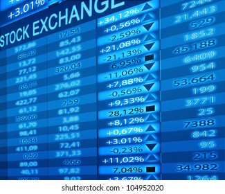 stock exchange rates