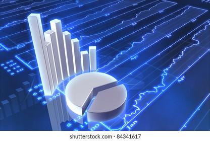 Stock market bars