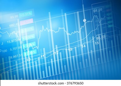 stock market investment trading, candle stick graph chart, trend of graph, Bullish point, soft and blur, illustration
