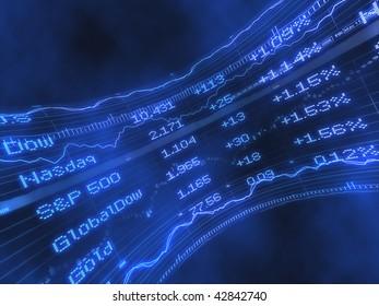 Stock Ticker Abstract