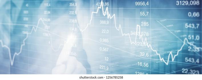 Stocks courses background