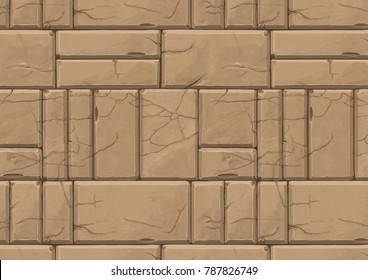 stone wall painted texture background horizontal