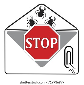 Stop opening Email Attachment. Hidden viruses and other malware may infect your computer