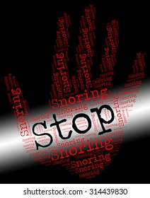 Stop Snoring Meaning Obstructive Sleep Apnea And Warning Sign