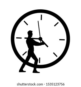 Stop time or need  more time  concept design