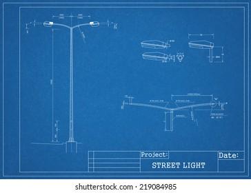 street light blueprint