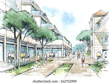 street-architectural fantasy