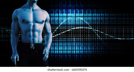 Strength and Conditioning as a Fitness Team for Training 3D Render