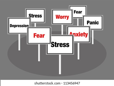 Stress signs