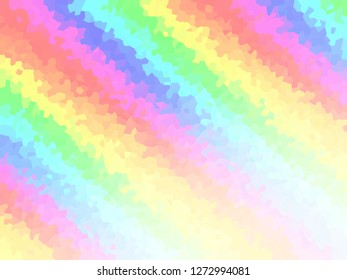 Stripe Rainbow background and color.  Bright multicolor purple blue green yellow orange pink red stripe Abstract backdrop.