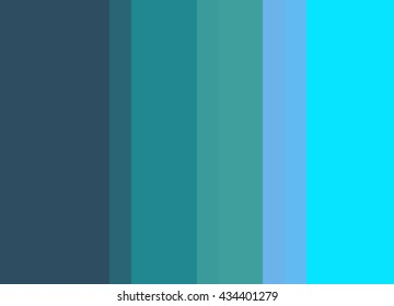 Striped Background in By the Sea, bright turquoise/periwinkle,teal/ultramarine blue, vertical stripes, color palette background