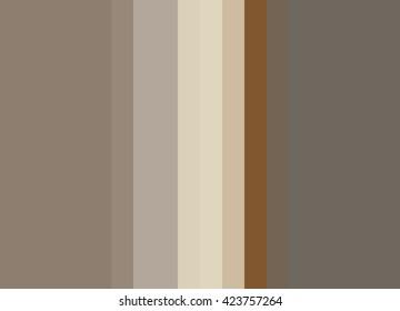Striped Background in cream/beige/taupe/copper, vertical stripes, color palette