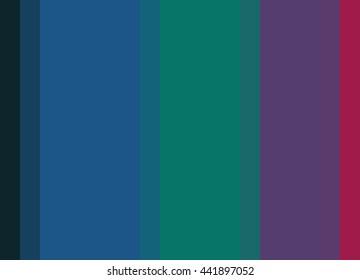 Striped background in deep jewel tones, vertical stripes, color palette background