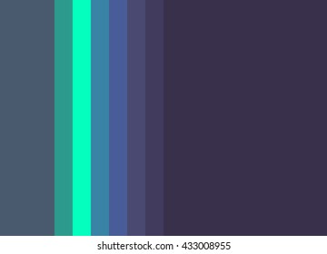 Striped Background in midnight blues/deep purples with bright teal accent, vertical stripes, color palette background