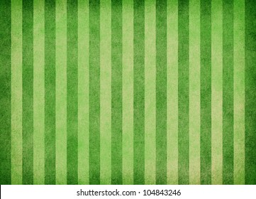 Striped green background. It is possible to use as the soccer field