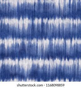 Striped Shibori Motif. Seamless Pattern.