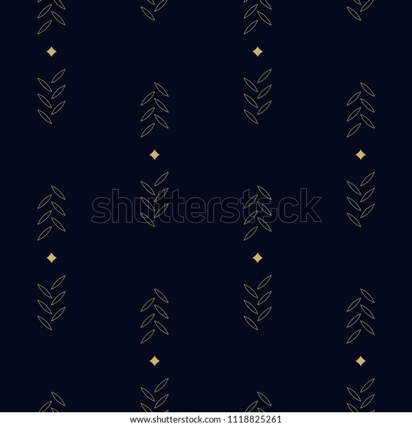 Stripes Background Simple Design Home Textile Stock Illustration