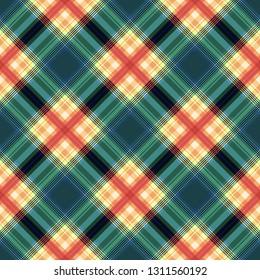 Stripes background, square lines tartan, rectangle diagonal pattern seamless,  irish british.