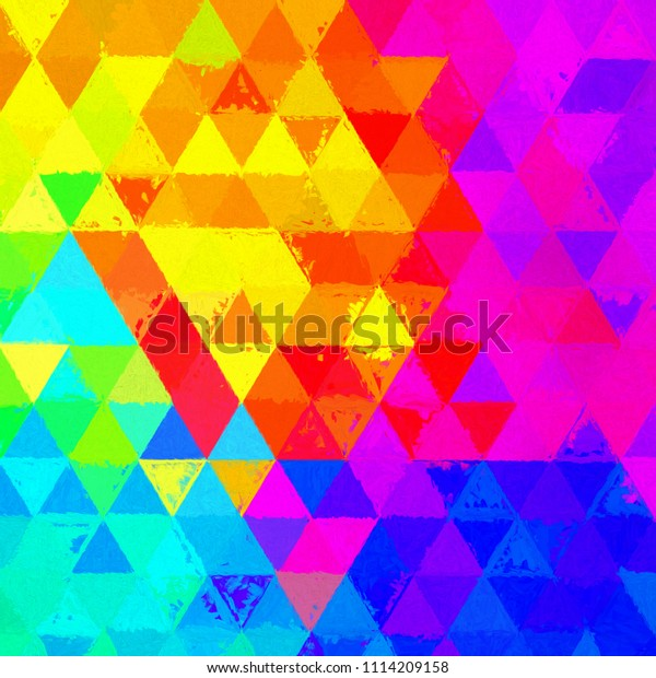 Stroke Painting Background Colorful Texture Effect Stock ...