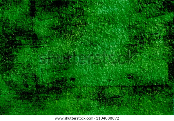 Strong green with black outlines.