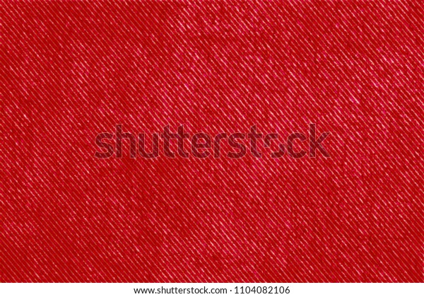 Strong red linen textile canvas.