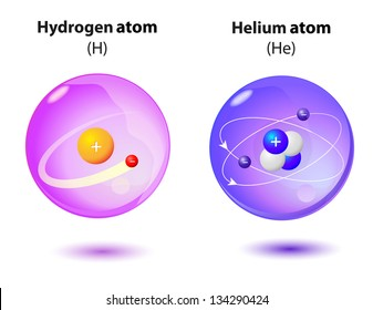 Helium atom images stock photos vectors shutterstock structure inside the atom helium and hydrogen ccuart Gallery