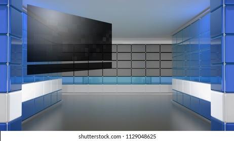 Studio Background 3d rendering