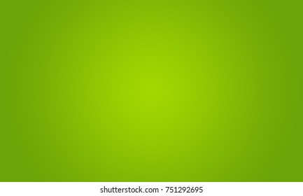 Studio Background - Bright Green Gradient studio room wall background.