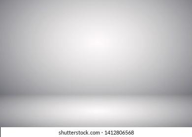Studio empty room background gray abstract