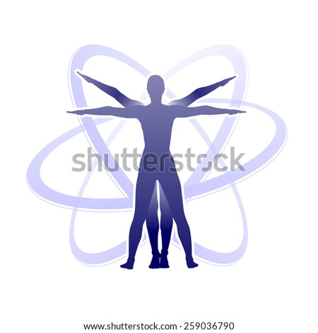 Study Human Body Proportions Stock Illustration 259036790 - Shutterstock
