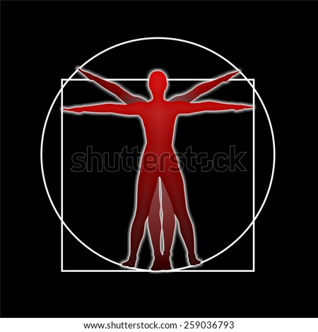 Royalty Free Stock Illustration of Study Human Body Proportions ...