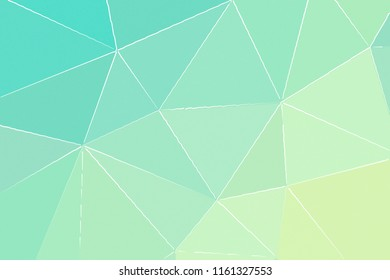 Stunning abstract illustration of pink, green, yellow and lapis lazuli with thin white strokes paint. Stunning background for your project.