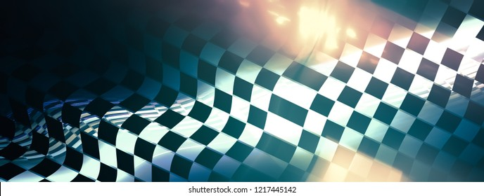 Stylish abstract background. metallic racing texture