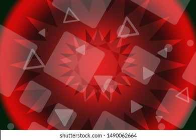 Stylish red background for presentation, printing, business cards, banner
