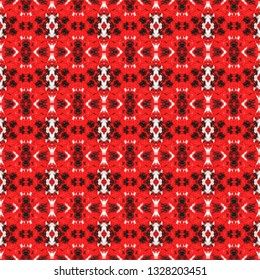Stylized bohemian seamless pattern. Inspired by traditional Indian themes. Bohemian seamless pattern for use in web and digital design, craftworks and fashion products.
