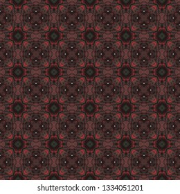 Stylized geometric seamless pattern. Inspired by traditional Arabic themes. Geometric seamless pattern for use in web and digital design, craftworks and fashion products.